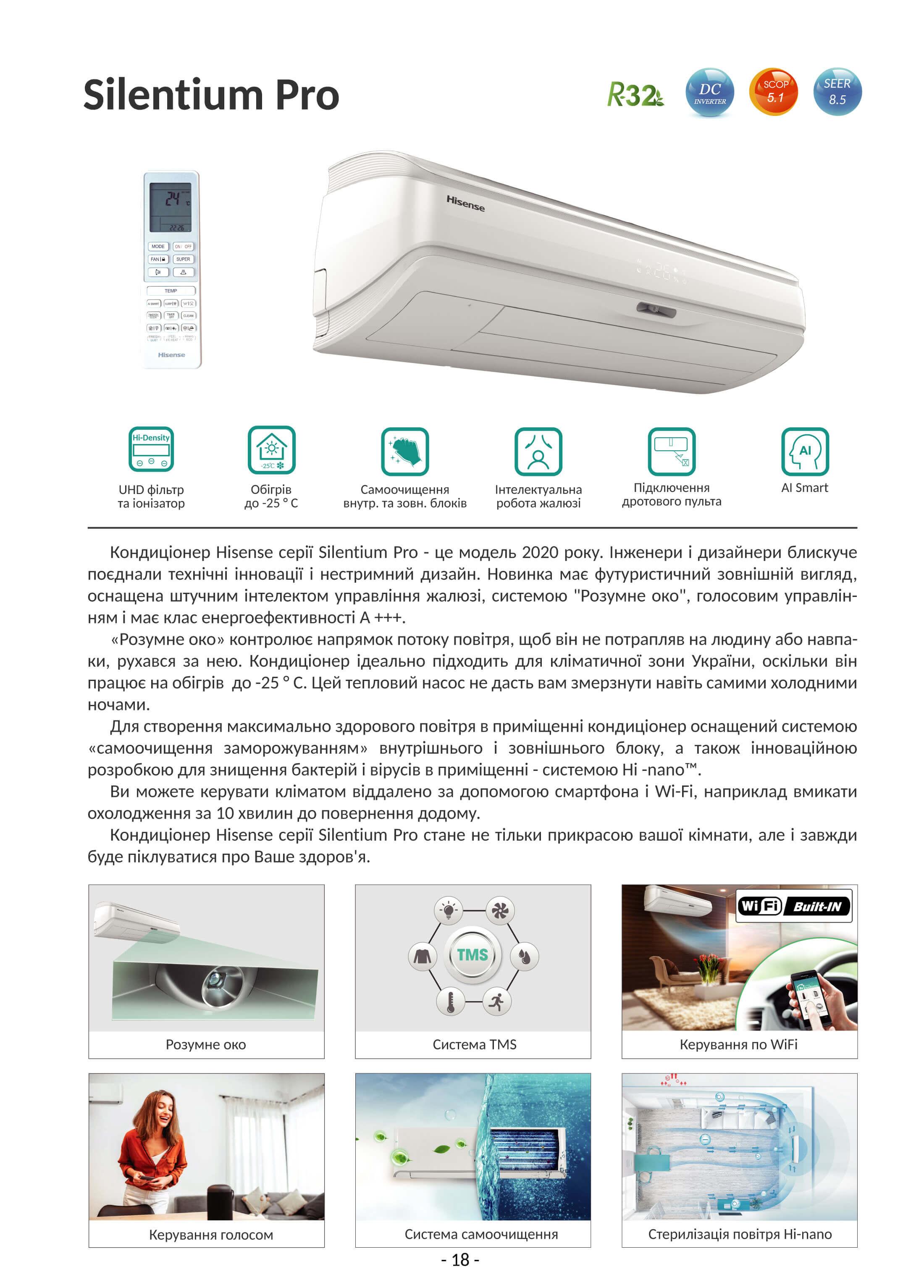 hisense Silentium Pro QD25XU0E